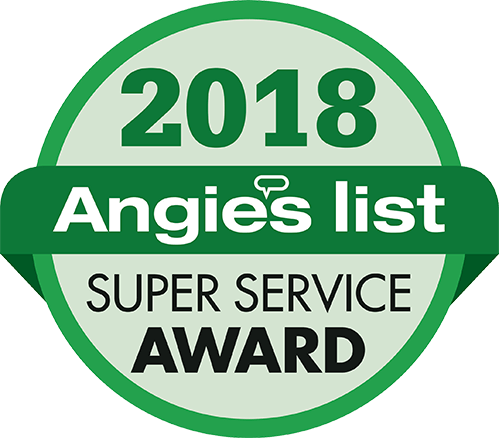 Angie's List Super Service Award for replacement windows services in Houston, TX