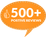 500 Positive Reviews